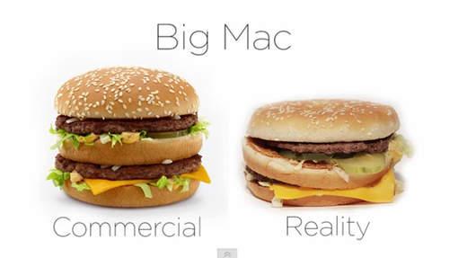 """""""Mac Do"""" : entre publicité et réalité"""