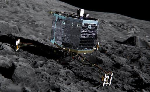 Espace :Philae est en marche