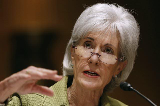 La secrétaire américaine à la Santé