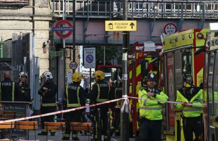Londres: Explosion dans le métro fait au moins 22 blessés