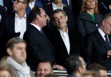 PSG- Bayern: Hollande, Sarkozy, l'insolite photo de leurs retrouvailles