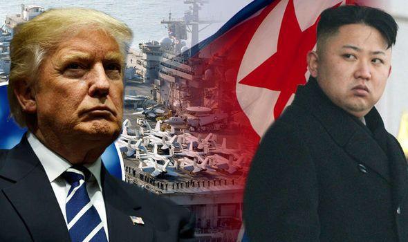 Trump menace la Corée du Nord de