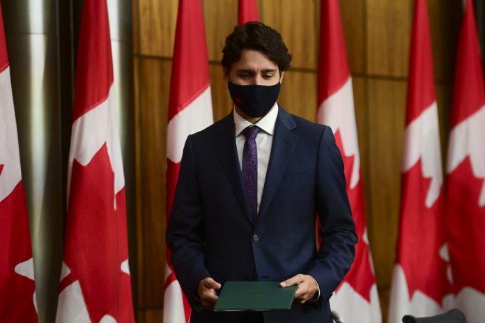 Justin Trudeau et son épouse souhaitent prompt rétablissement à Donald Trump et Mélania Trump