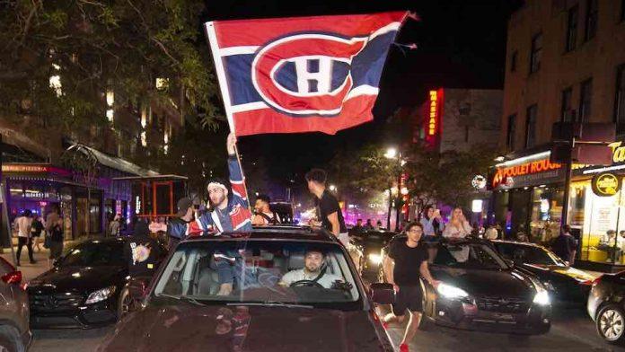 Canadien de Montréal: des débordements au centre-ville après la victoire