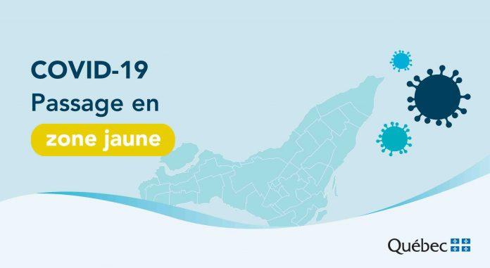 Coronavirus: Montréal passera en zone jaune dès le 14 juin