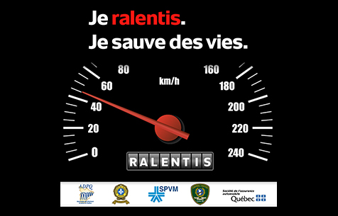 Québec : Opération nationale concertée vitesse
