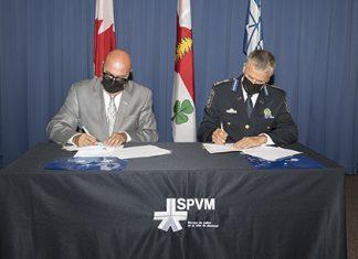 Le SPVM renouvelle son entente avec Info-Crime Montréal