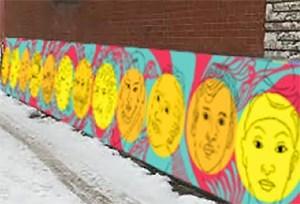 Montréal: Quatre nouvelles murales dans les ruelles vertes de VSP